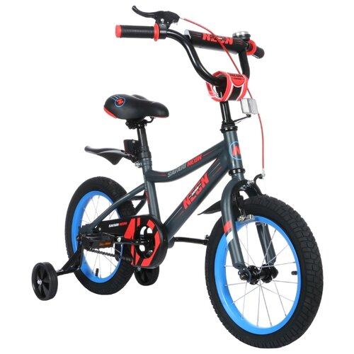 Детский велосипед Grand Toys GT9518 Safari Proff Neon красный (требует финальной сборки)