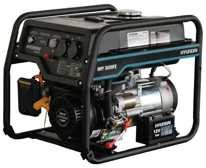 Бензиновый генератор Hyundai HHY 3020FE (2800 Вт)
