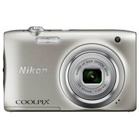 Компактный фотоаппарат Nikon Coolpix A100 серебристый