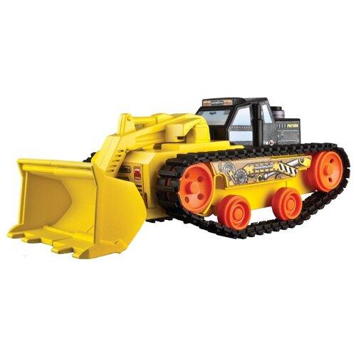 Купить Экскаватор Maisto Power builds - Front Loader (82034) желтый, Машинки и техника