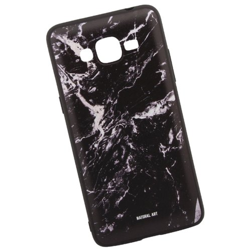 Чехол WK WK06 для Samsung Galaxy J2 Prime черный мрамор