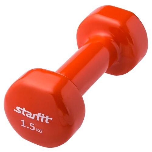 Гантель цельнолитая Starfit DB-101 1.5 кг