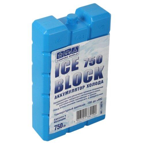 Camping World Аккумулятор холода Iceblock 750 голубой аккумулятор холода cw camping world iceblock 400