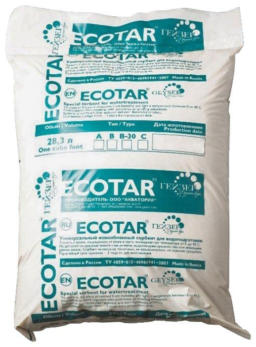 Смешанная ионообменная смола для обезжелезивания и умягчения воды Гейзер Ecotar В