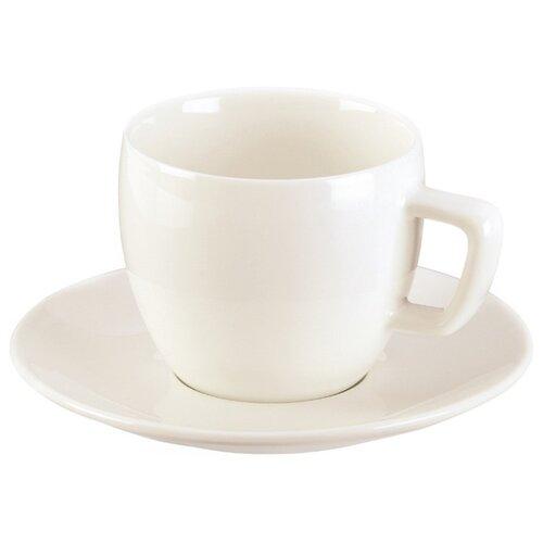 Tescoma Чашка для капучино Crema с блюдцем 200 мл чашка для капучино tescoma crema с блюдцем 387124