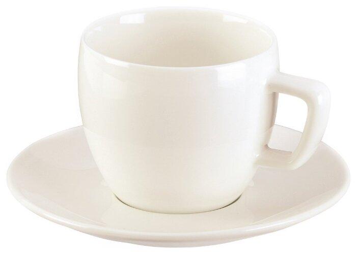 Tescoma Чашка для капучино Crema с блюдцем 200 мл