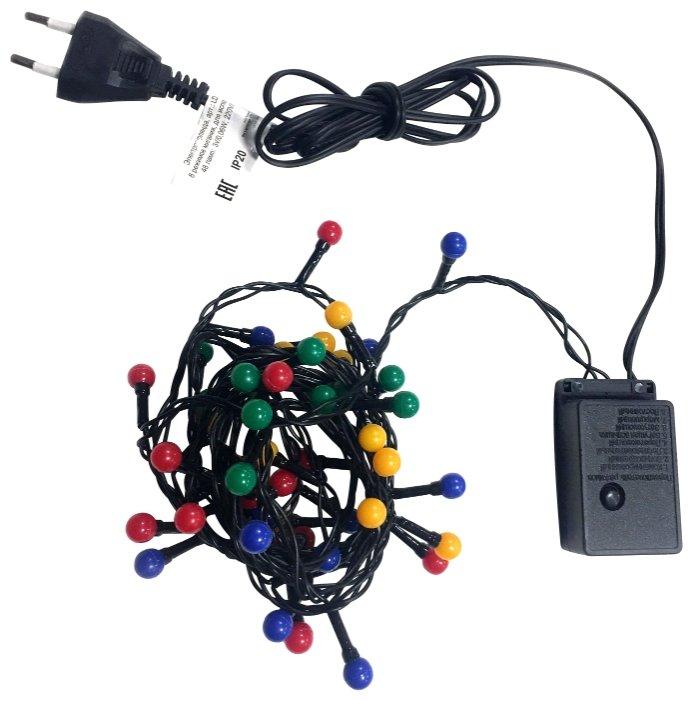 Гирлянда Sh Lights Жемчужные шарики, 235 см, LDBL048M-10-C