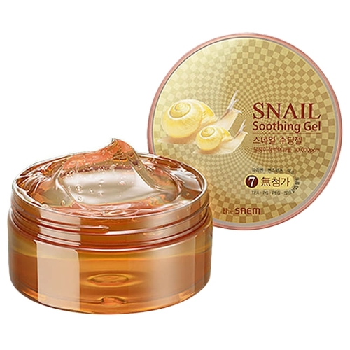 The Saem Snail Soothing Gel Улиточный гель для лица и тела