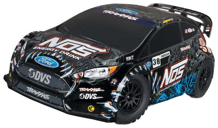 Легковой автомобиль Traxxas Rally Ford Fiesta ST (TRA74054-6) 1:10 55.2 см