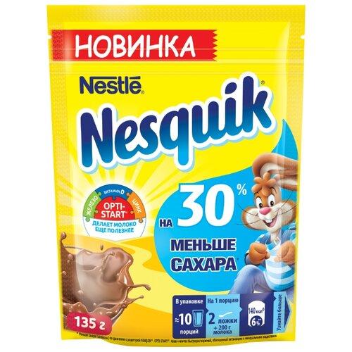 Nesquik Opti-start На 30% меньше сахара Какао-напиток растворимый, 135 г