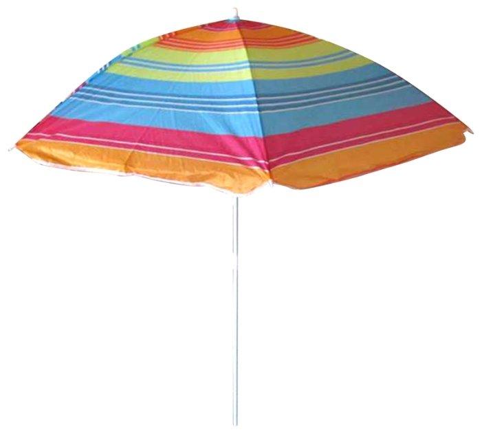 Пляжный зонт ECOS BU-02 купол 140 см, высота 155 см