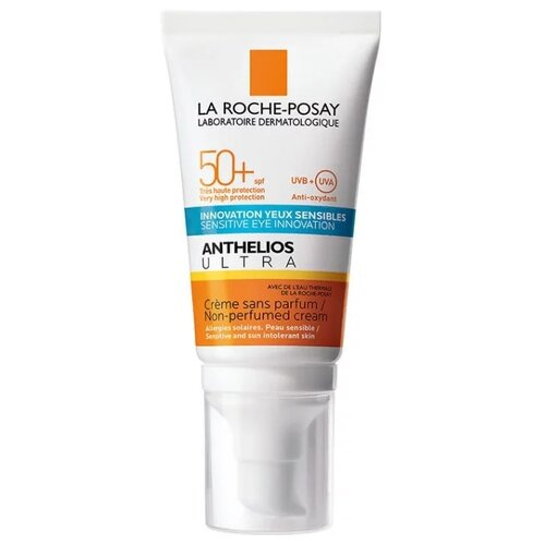 La Roche-Posay крем Anthelios Ultra для лица и кожи вокруг глаз, SPF 50, 50 мл, 1 шт la roche posay shaka флюид для лица и кожи вокруг глаз spf50 50 мл la roche posay anthelios