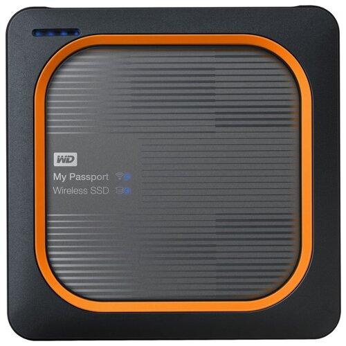 Фото - Внешний SSD Western Digital My Passport Wireless SSD 500 ГБ черный внешний ssd seagate one touch 500 гб камуфляж зеленый