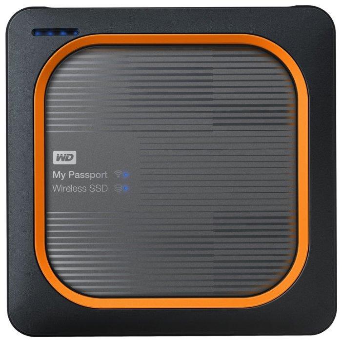 Внешний SSD Western Digital My Passport Wireless SSD 500 ГБ