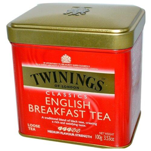 Фото - Чай черный Twinings English breakfast, 100 г чай черный twinings earl grey 100 г