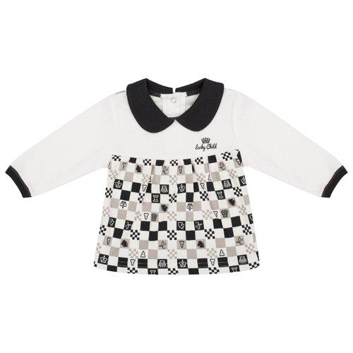 Кофта lucky child размер 24, молочныйДжемперы и толстовки<br>
