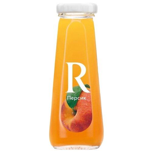 Нектар Rich Персик, в стеклянной бутылке, 0.2 лСоки, нектары, морсы<br>