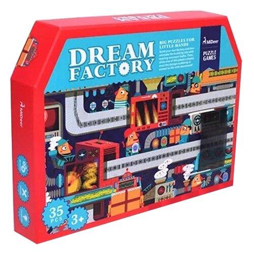 Пазл MiDeer Фабрика мечты анимированный (MD3023), 35 дет.Пазлы<br>