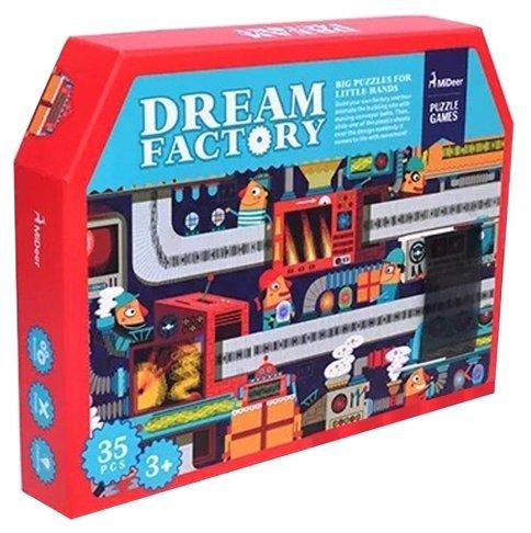 Пазл MiDeer Фабрика мечты анимированный (MD3023), 35 дет.