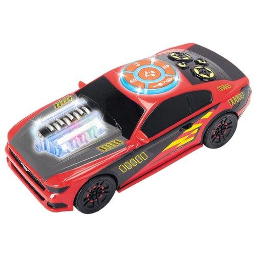 Купить Легковой автомобиль Dickie Toys Музыкальный гонщик моторизированный (3764003) 23 см красный/черный, Машинки и техника