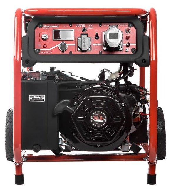 Бензиновый генератор Hammer GN8000ATS (7000 Вт)