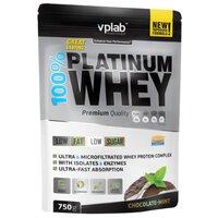 Протеин VP Laboratory 100% Platinum Whey (750 г) шоколад-мята
