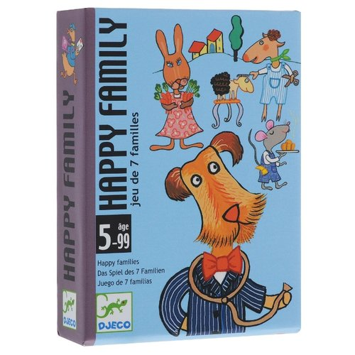 Настольная игра DJECO Карточная игра Счастливая семейка настольная игра анимо djeco настольная игра анимо