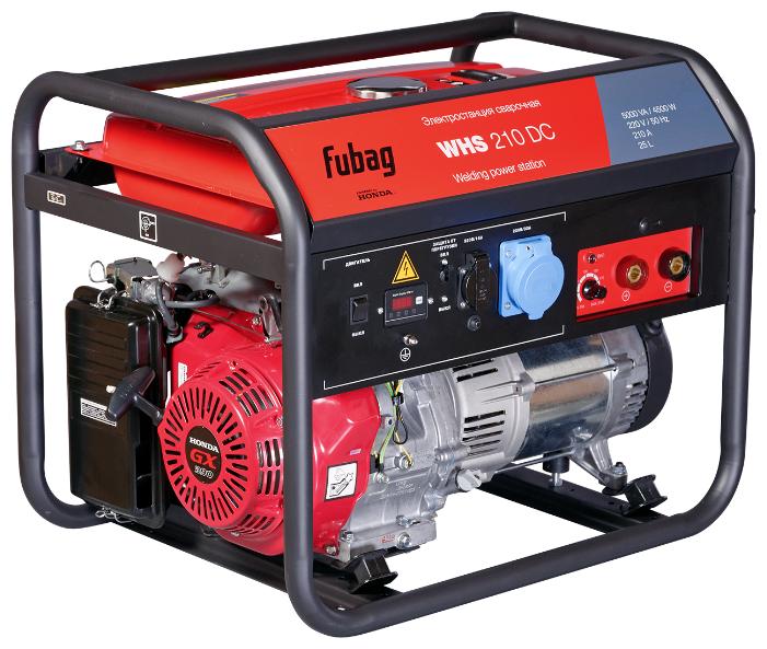 Бензиновый генератор Fubag WHS 210 DC (4500