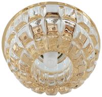 Встраиваемый светильник De Fran FT 9298 GW, золото / прозрачный