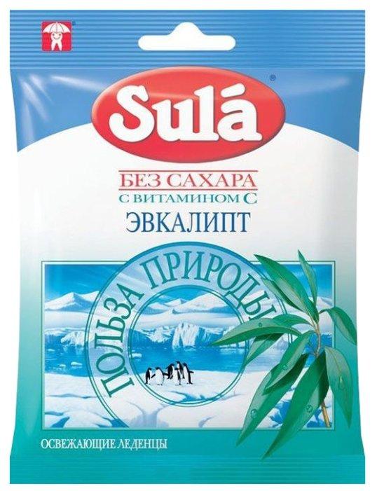 Леденцы Sula Эвкалипт 60 г