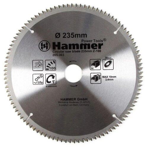 Пильный диск Hammer Flex 205-303 CSB AL 235х30 мм пильный диск hammer flex 205 108 csb wd 185х30 мм