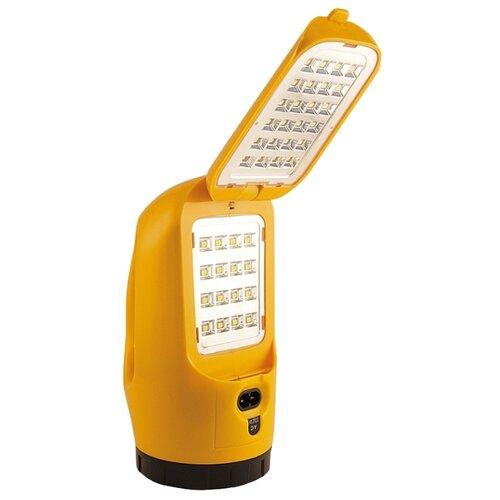 Кемпинговый фонарь Яркий Луч LA-1W Раскладушка желтый