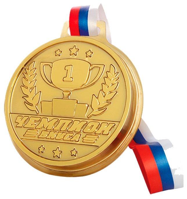 Фигурный шоколад Чемпион Вкуса Медаль шоколадная