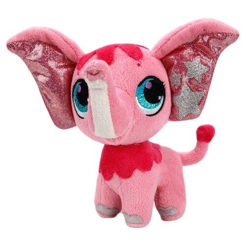 Купить Мягкая игрушка Мульти-Пульти Littlest pet shop Слоник 16 см, Мягкие игрушки