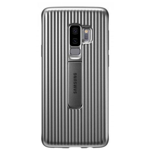 Чехол Samsung EF-RG965 для Samsung Galaxy S9+ серебристыйЧехлы<br>