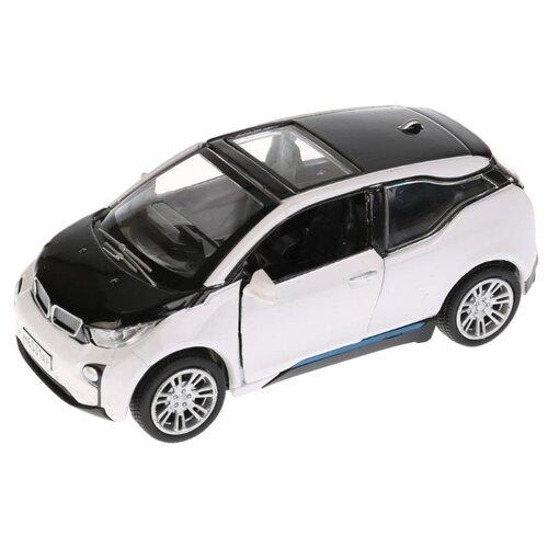 Легковой автомобиль ТЕХНОПАРК Электокар (X600-H09225-R) 10 см черный/белый автомобиль технопарк гонки цвет в ассортименте ebs868 r