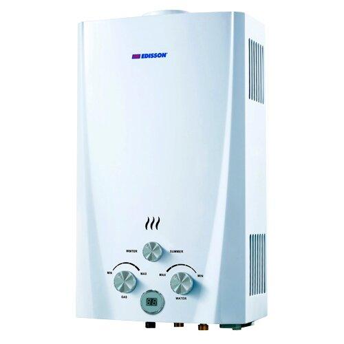 Проточный газовый водонагреватель Edisson Flame F 20 D