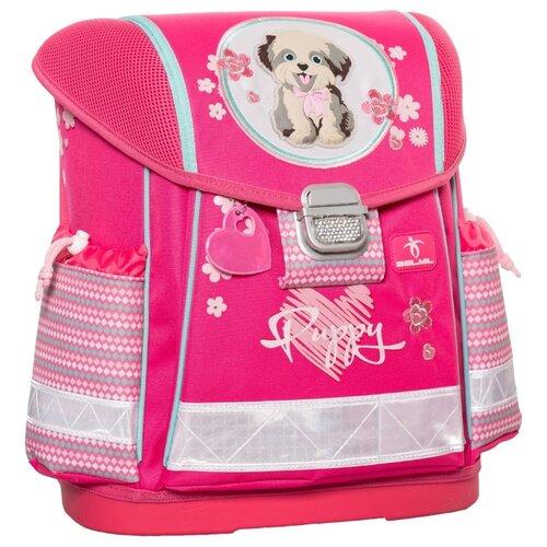 Купить Belmil Ранец Classy Puppy (403-13/406), розовый, Рюкзаки, ранцы