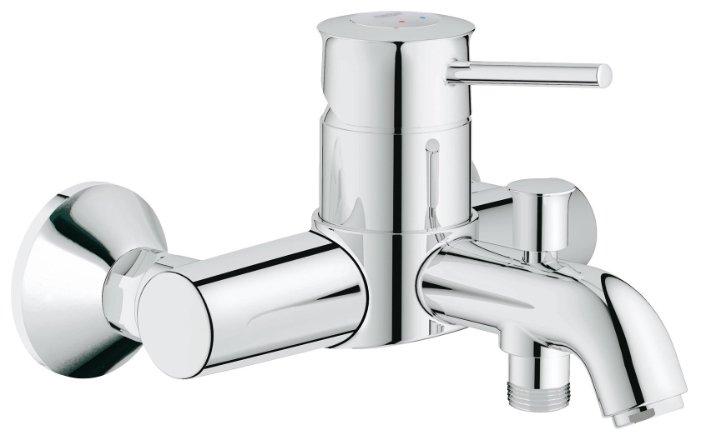 Однорычажный смеситель для ванны с душем Grohe BauClassic 32865000