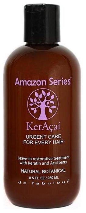 Amazon Series KerAcai Восстанавливающая несмываемая маска для волос