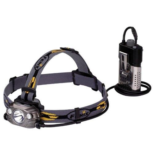 цена на Налобный фонарь Fenix HP30R серый