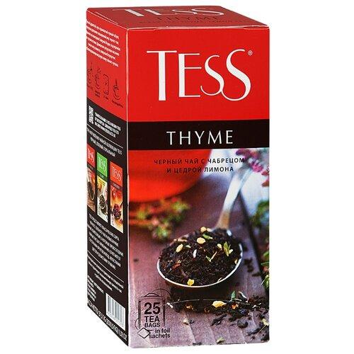 Чай черный Tess Thyme в пакетиках , 25 шт. чай черный tess blueberry tart