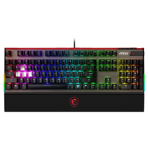 Игровая клавиатура MSI Vigor GK-80 Black USB
