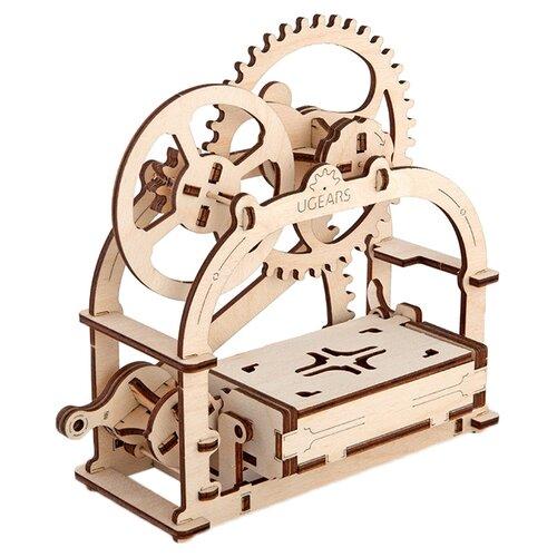 Купить Сборная модель UGEARS Механическая шкатулка, Сборные модели