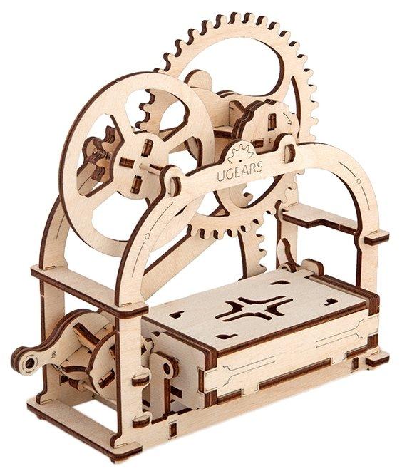 Сборная модель UGEARS Механическая шкатулка,,