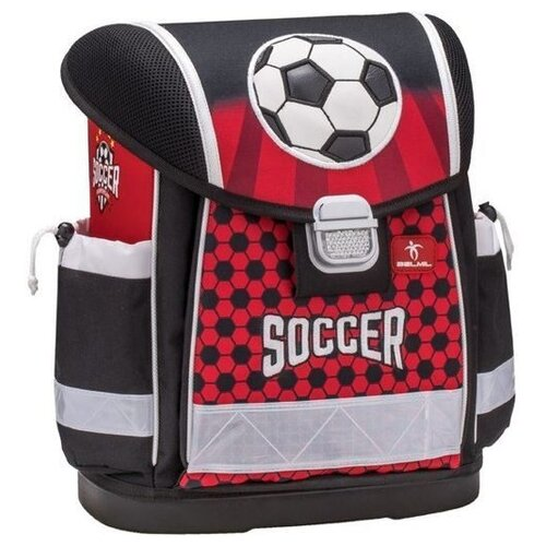 Belmil Ранец Classy Soccer (403-13/639) красный/черныйРюкзаки, ранцы<br>
