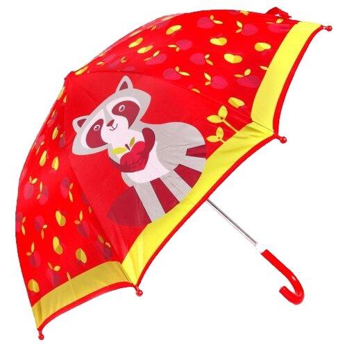 Зонт Mary Poppins красный/золотой