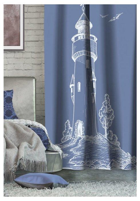 Портьера Волшебная ночь Блэкаут Lighthouse