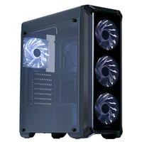 Корпус ATX Zalman I3 EDGE черный, с окном, ,без БП, FAN CONTROLLER, 4x120mm FAN