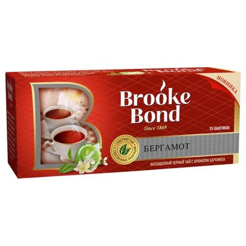 Чай черный Brooke Bond Бергамот в пакетиках, 25 шт. пуловер quelle ashley brooke 193109
